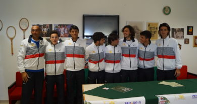 VIDEO. Caltanissetta. Tennis club Villa Amedeo, presentata la squadra regionale di serie C