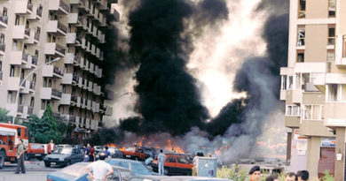 19 luglio 1992. La commemorazione di via D'Amelio a 26 anni dalla strage
