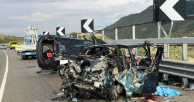 Scontro frontale sulla Caltanissetta-Gela: 2 morti e 4 feriti