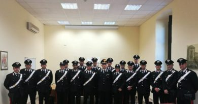 Rinforzi per i carabinieri a Caltanissetta e in provincia