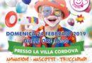 Gonfiabili, sculture di palloncini e sfilata in maschera per il Carnevale dei bambini a villa Cordova