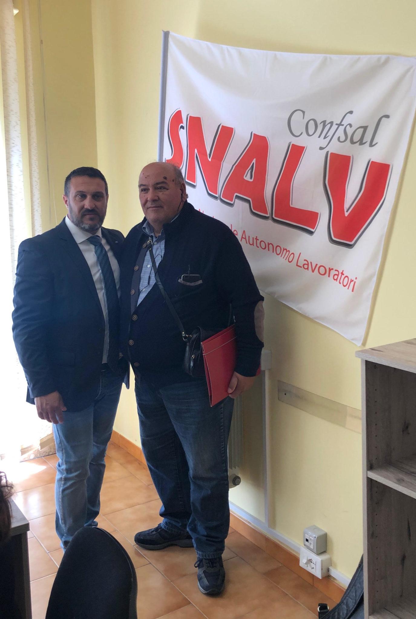 Snalv confsal, Calogero Addamo nuovo segretario comunale di Riesi