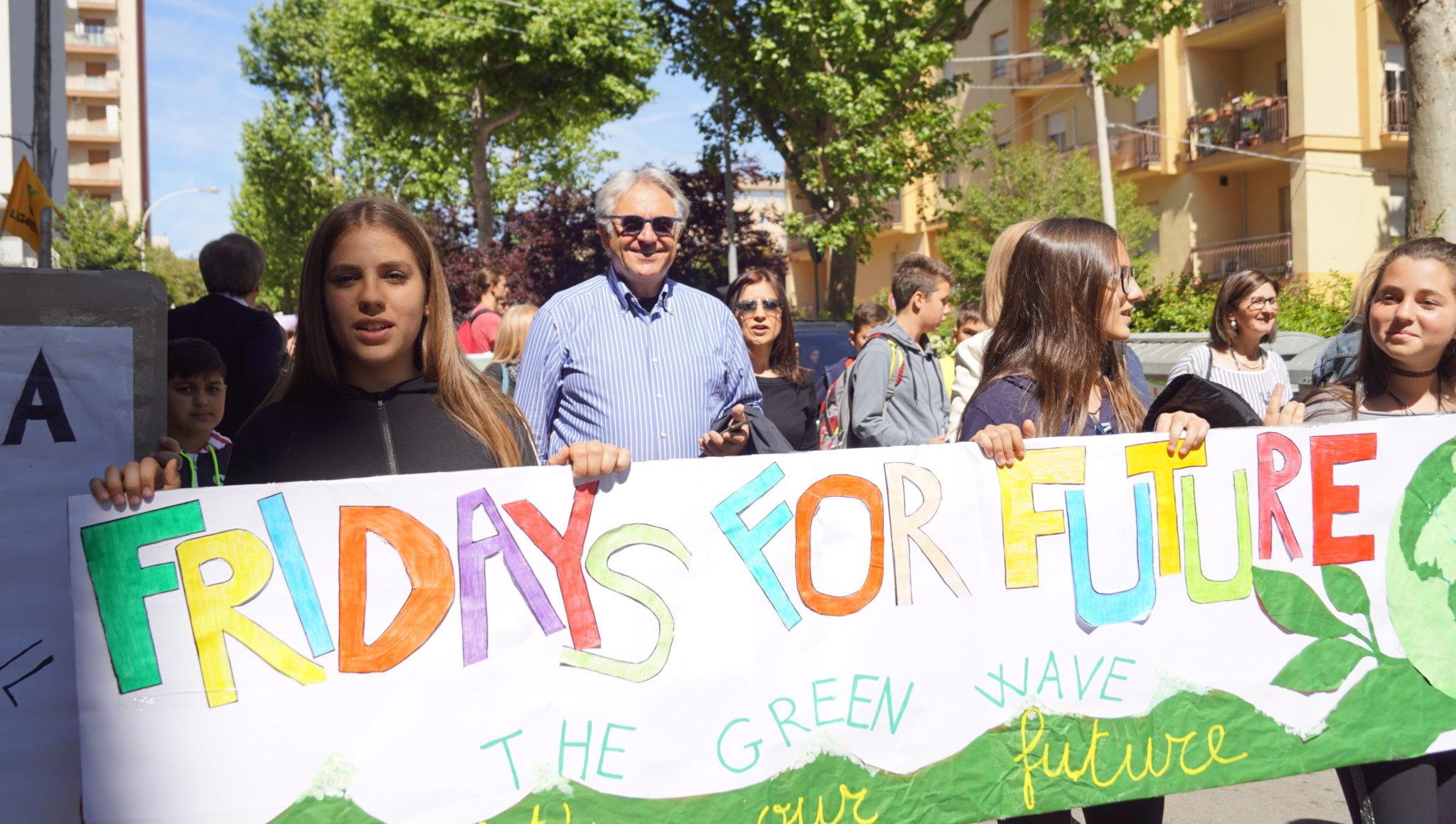 VIDEO. Anche Caltanissetta partecipa alla manifestazione mondiale per il clima