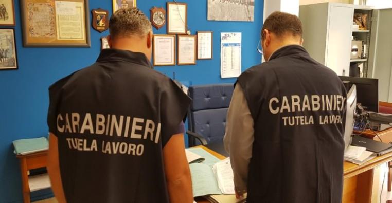 Controlli a tappeto da parte di Carabinieri, Nas e Nucleo Ispettorato del lavoro a Enna