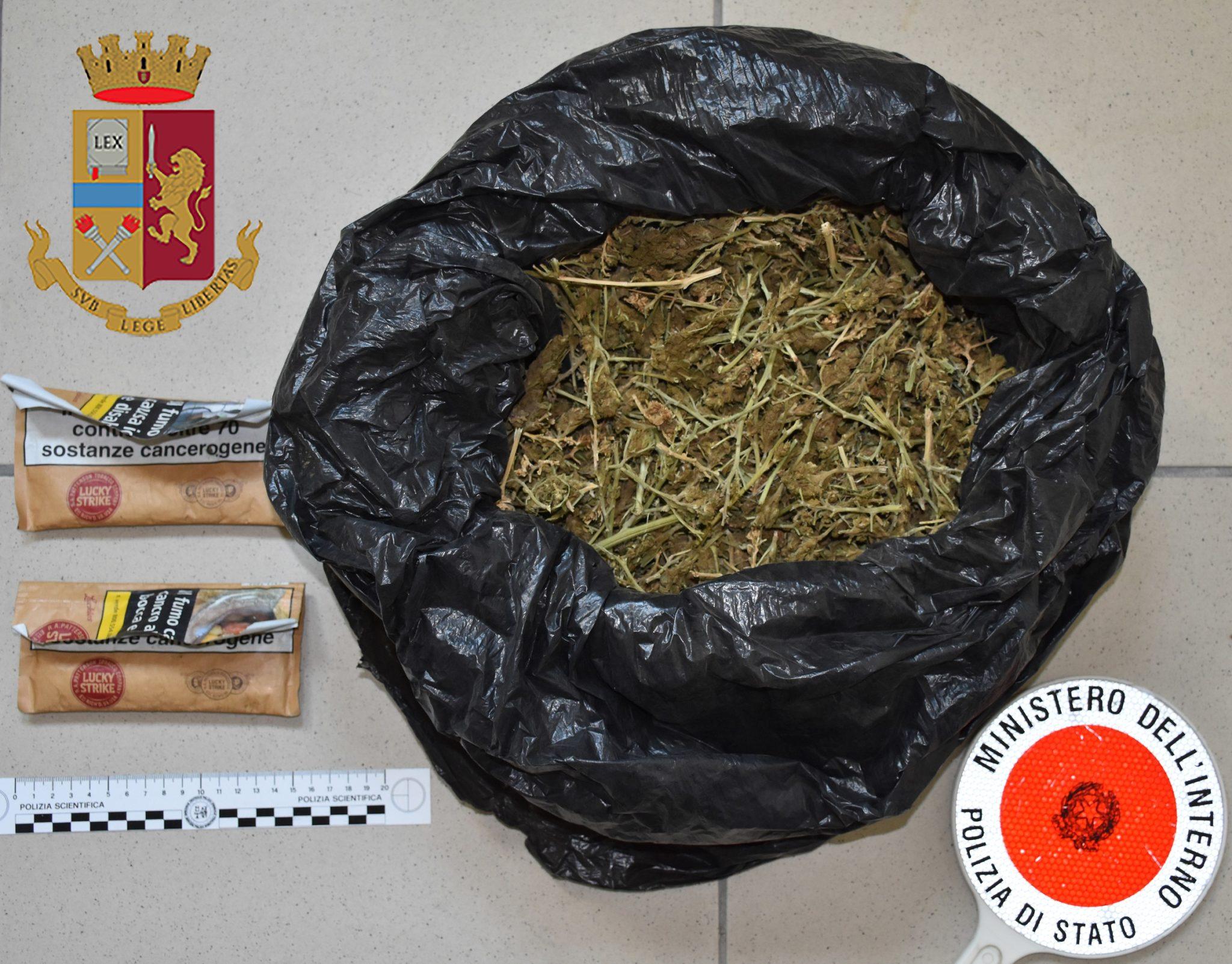 Gela, arrestato niscemese per detenzione ai fini di spaccio di sostanze stupefacenti