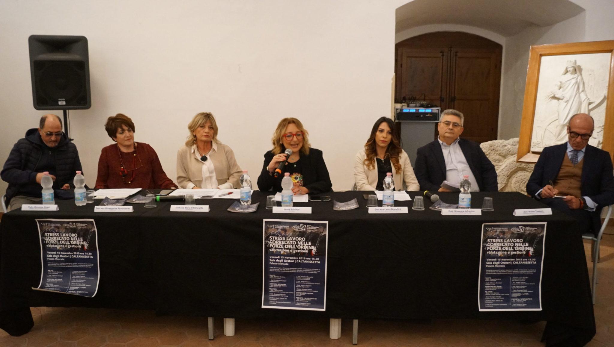 """Caltanissetta, """"Stress lavoro correlato nelle forze dell'ordine"""" convegno a Palazzo Moncada - CaltanissettaLive"""