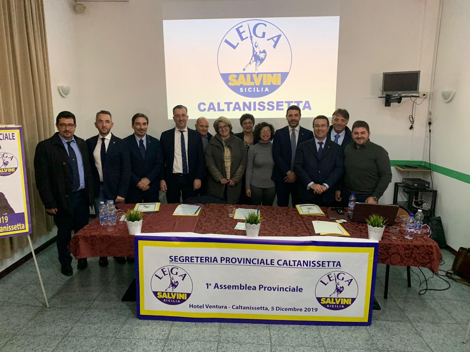 Prima assemblea provinciale Lega Caltanissetta, nominati i commissari